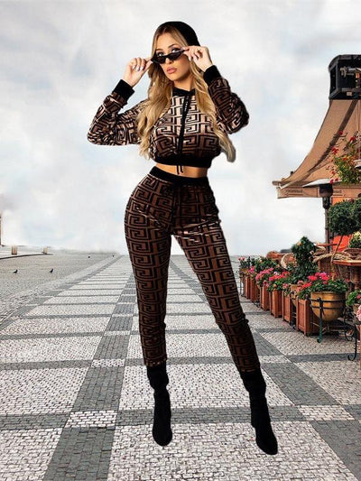 Fashion Hooded Long sleeve Jumpsuits