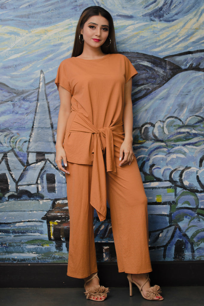 Knot top & Culotte Co-Ord Set
