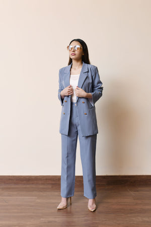 Amalfi Blue Suit
