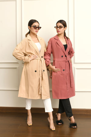 Arya Trench Duster Coat
