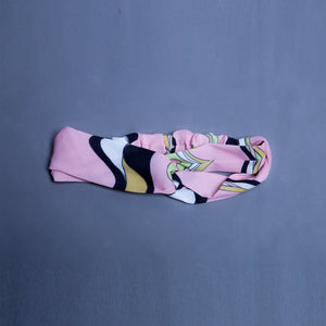 Pink Abstract Headband