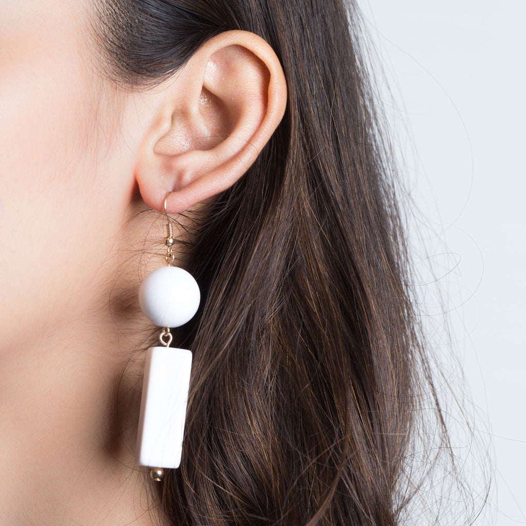 Pearl Tassle Earrings