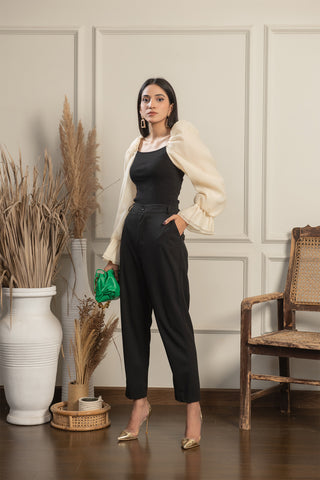 Lola high waist Cigarette trousers