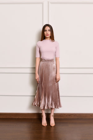 Pleated skirt