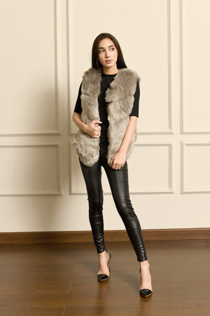 Gaia PU leather look Leggings