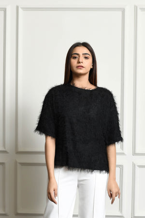 Ayla Fringed blouse