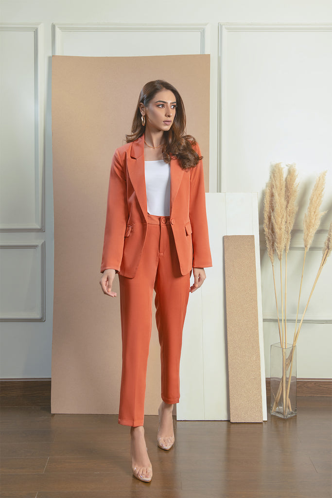 Oslo Coral Suit