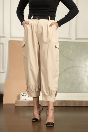 Giga Cargo Trousers with belt