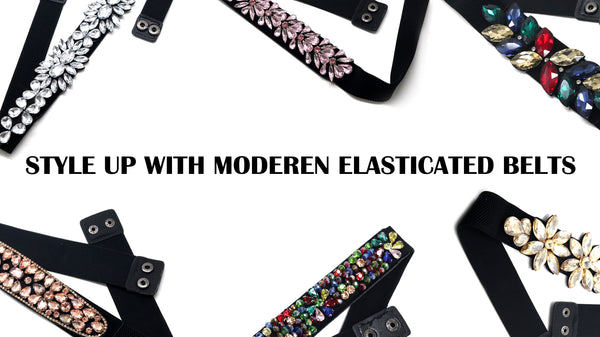 Style Up With Modern Elasticated Belts