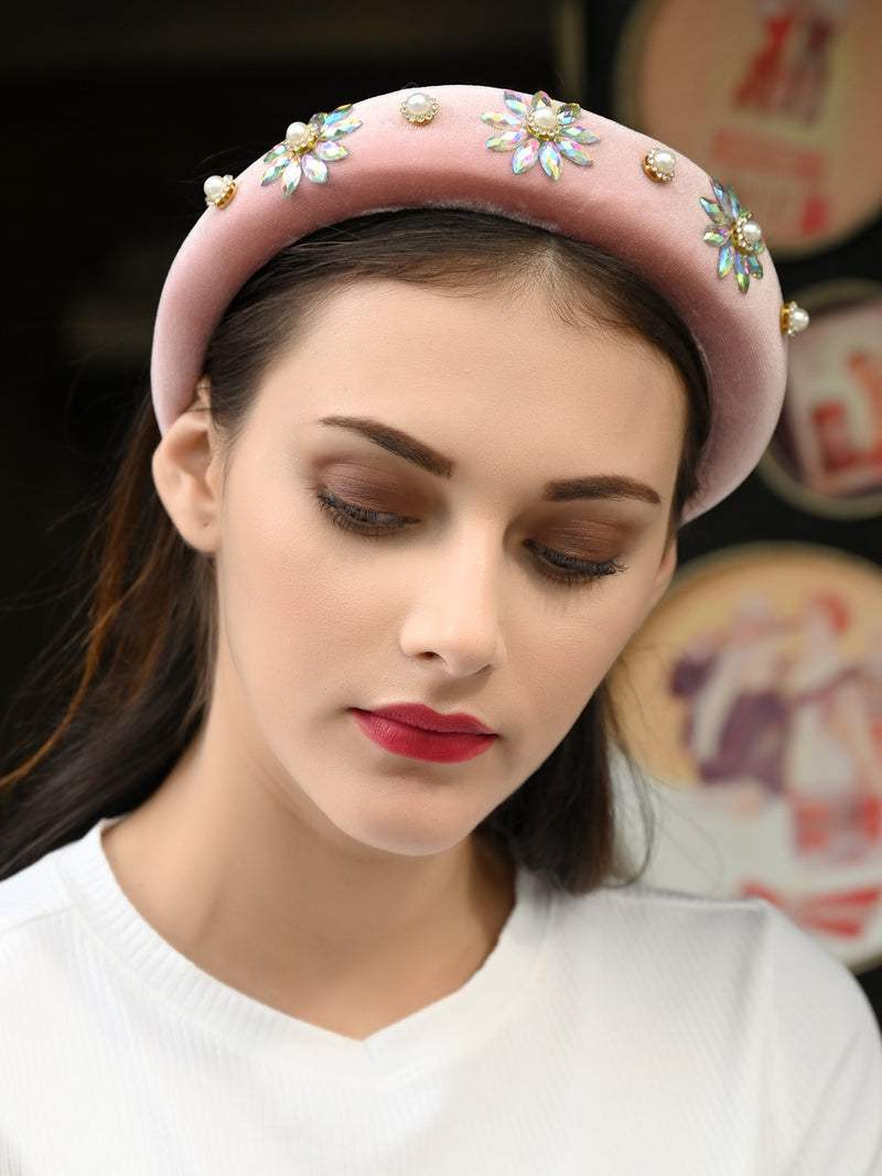 Pink Dapper Showy Hairband