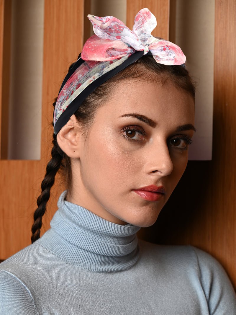 Pink Cute Bow Knot Hairband