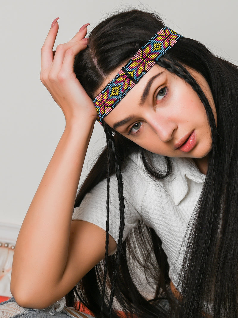 Tribal Multicolor Hair Band