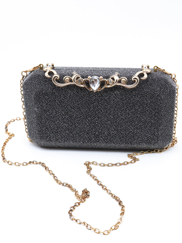 Adorable Grey clutch