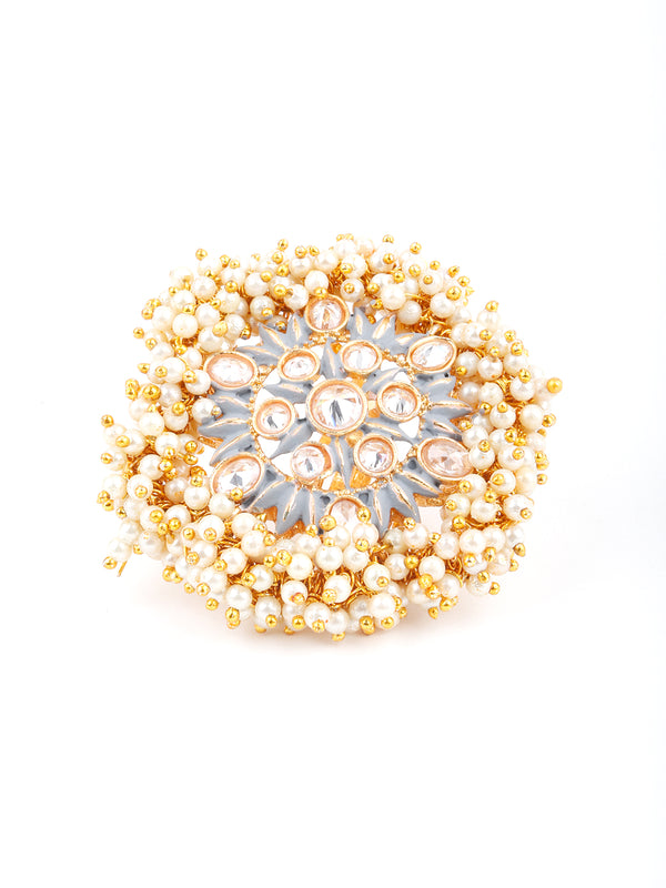 Bunch Of Pearls Finger Ring