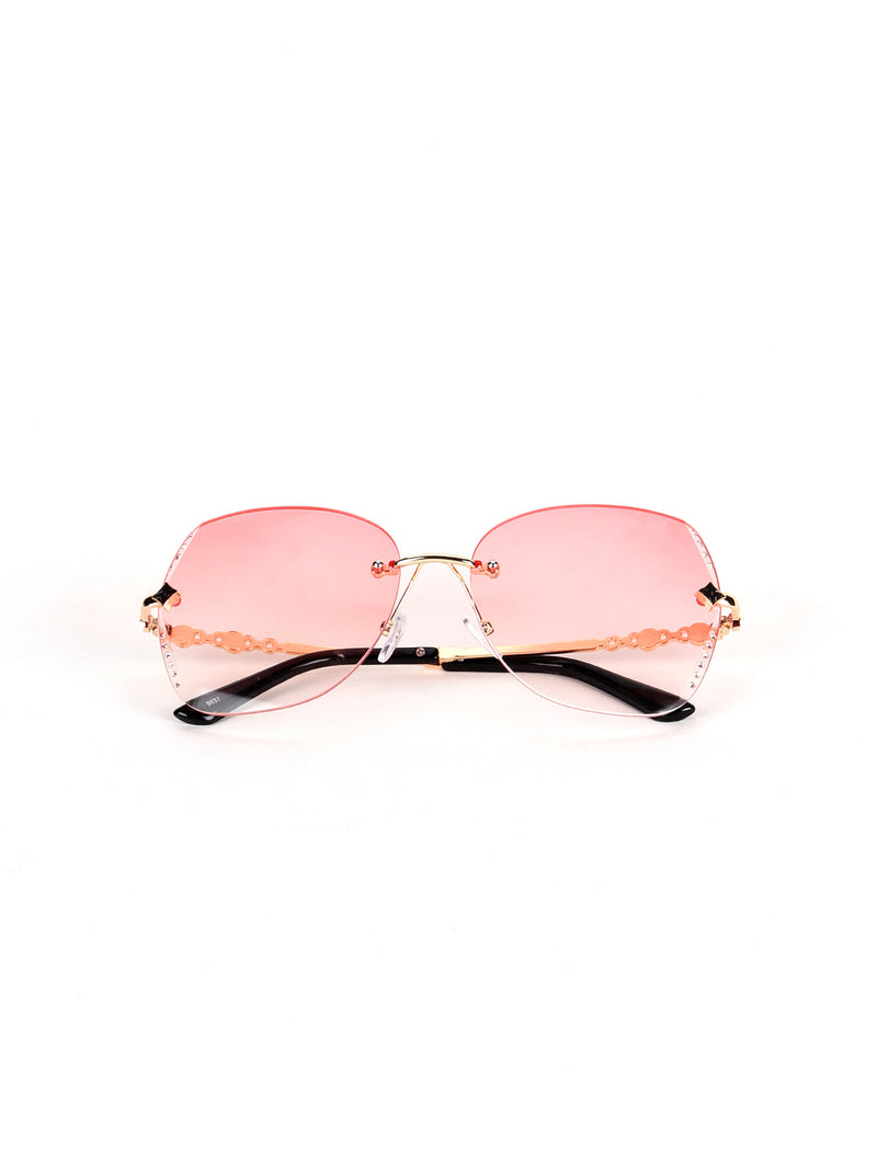 Pink Cat Eye Statement Sunglass