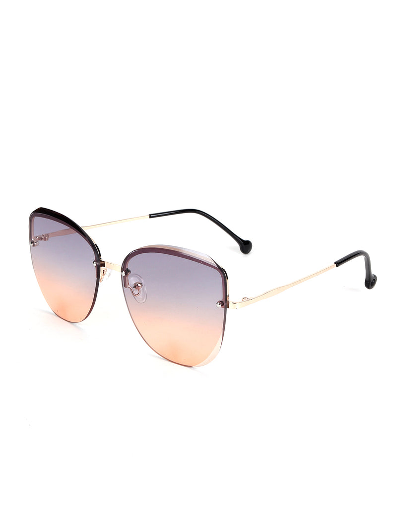 Multicolor Cat Eye Cool Sunglass