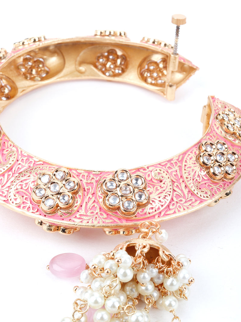 Traditional Pink Beautiful Bracelet