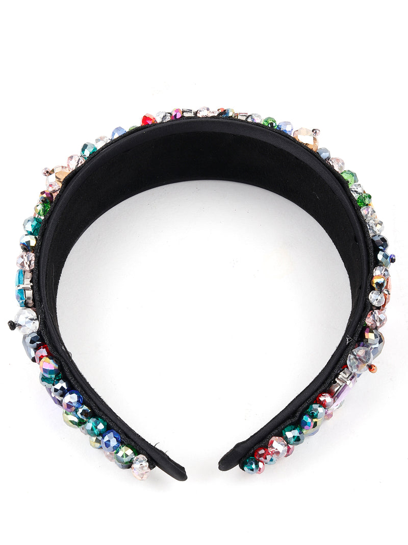 Coral Multicolor Hair Band