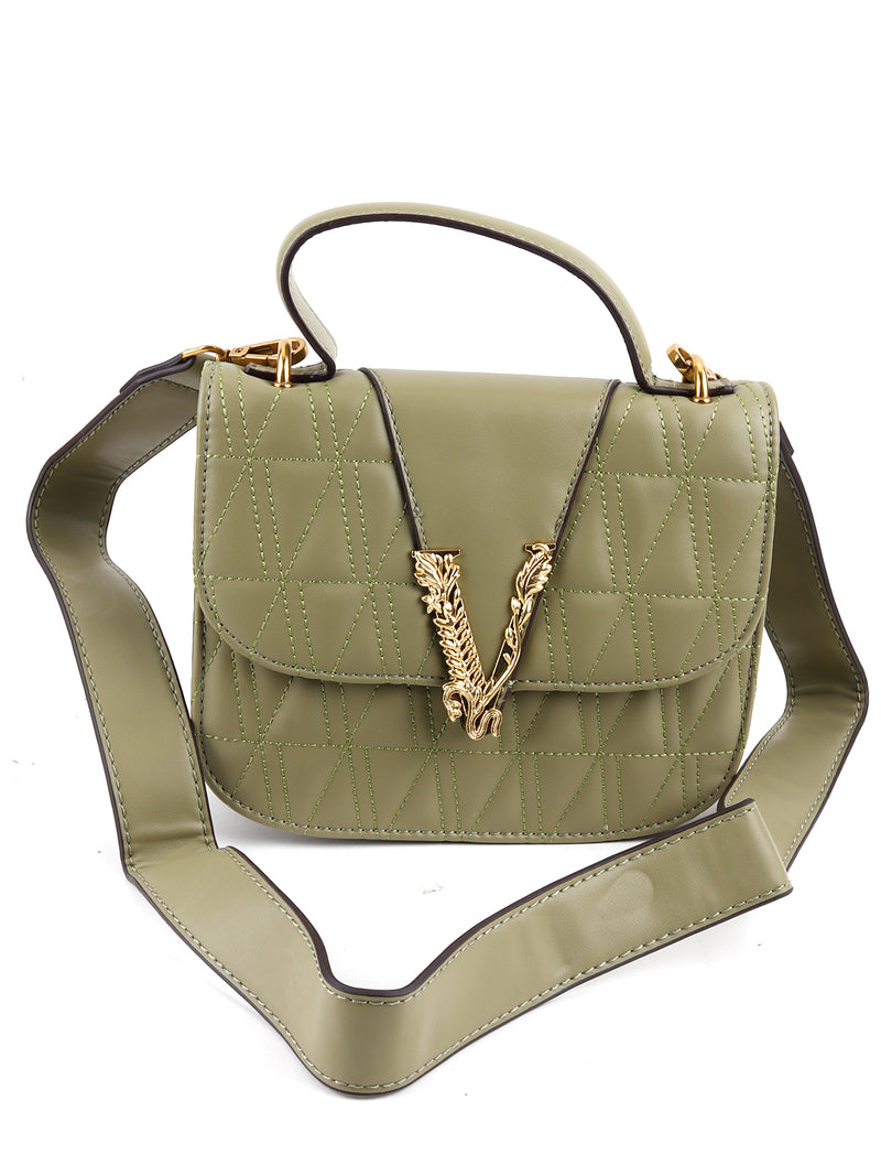 Ever Green Leather Bag