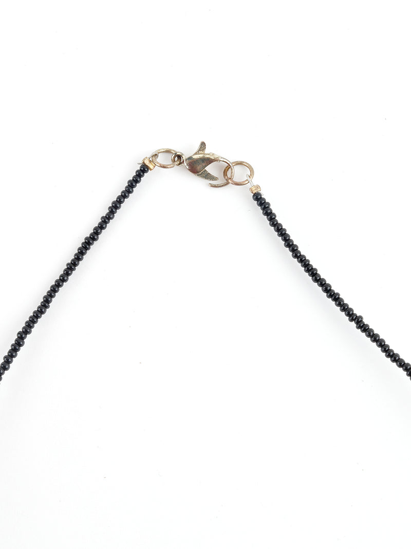 Black Beads Entangled Chain