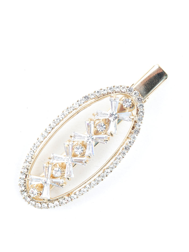 Luscious Oval Stylish Hairclips