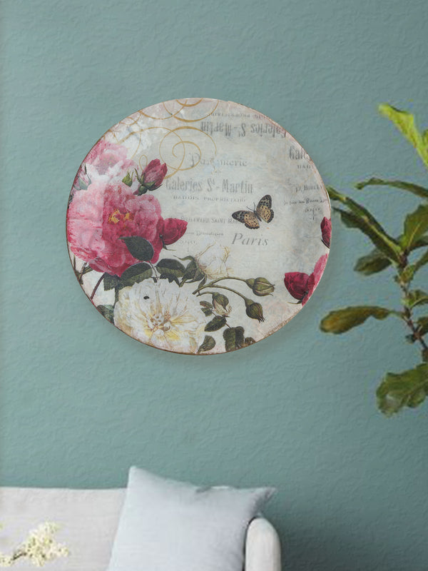 Romantic Paris Wall Hanging Plate