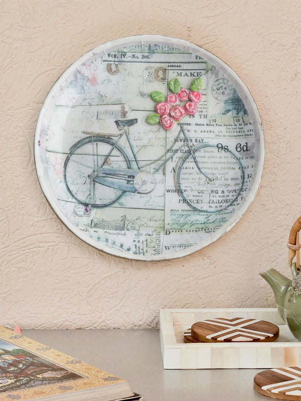 Bicycle Wall Hanging Plate