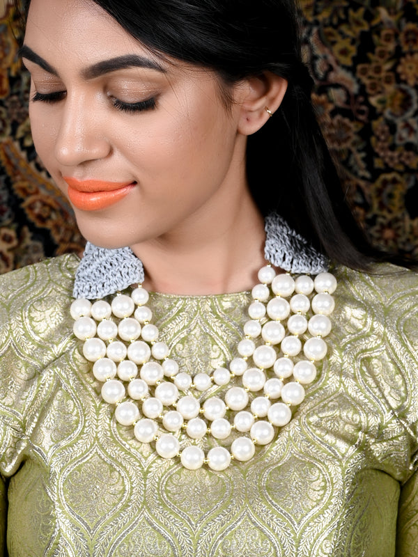 Pearly Trendy Necklace