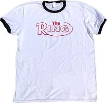 The Ring Retro Ringer Tee Black/White