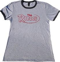 The Ring Retro Ringer Tee Gray/Heather