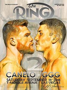 Limited Edition Ring X Slone Canelo vs GGG 2 Staredown Poster