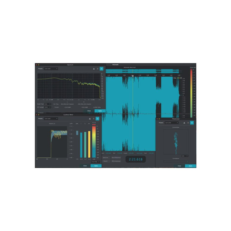 2nd Sense Audio - ReSample (Edit/Analyze Audio)