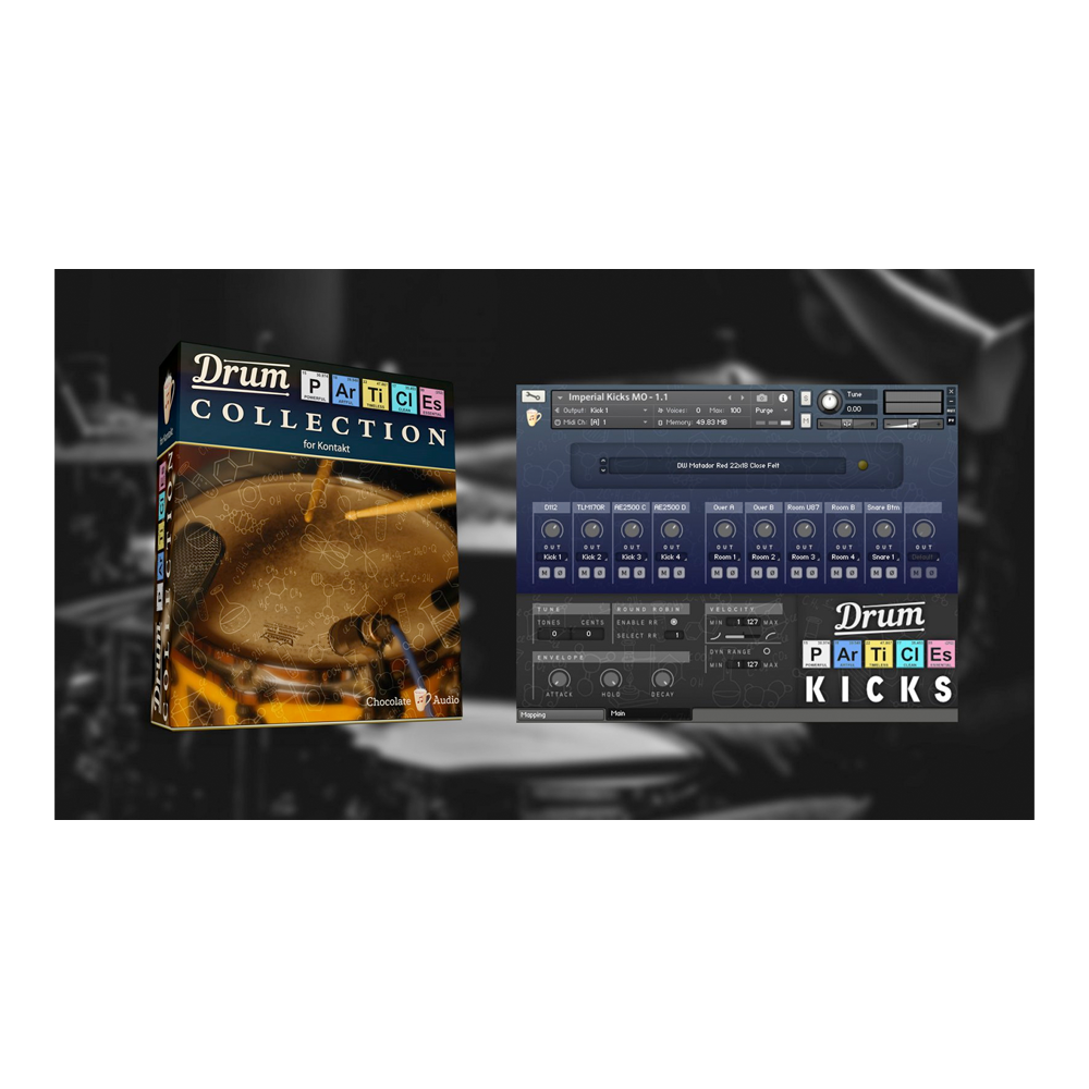 Chocolate Audio - Drum Particles Collection (Kontakt)