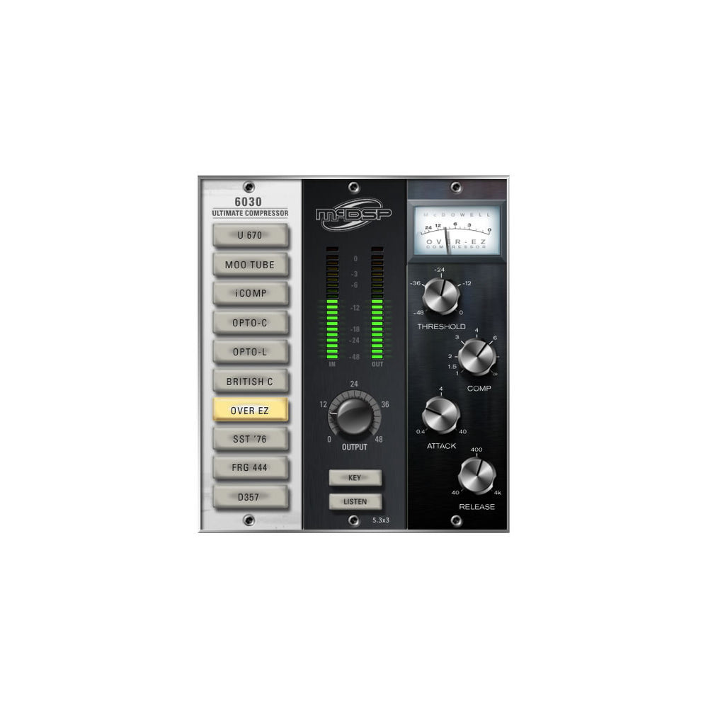McDSP - 6030 Ultimate Compressor v6 (Native)