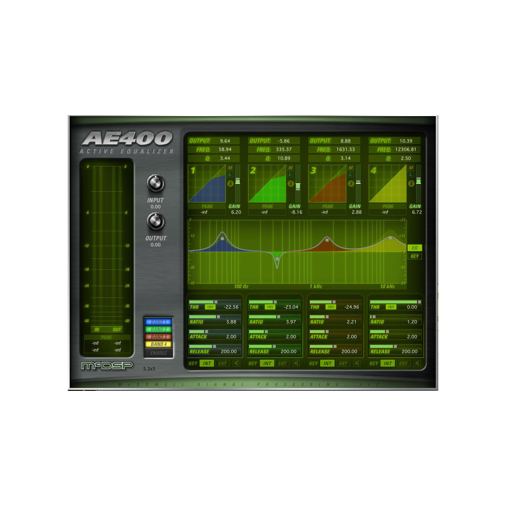 McDSP - AE400 Active EQ v6 (HD)