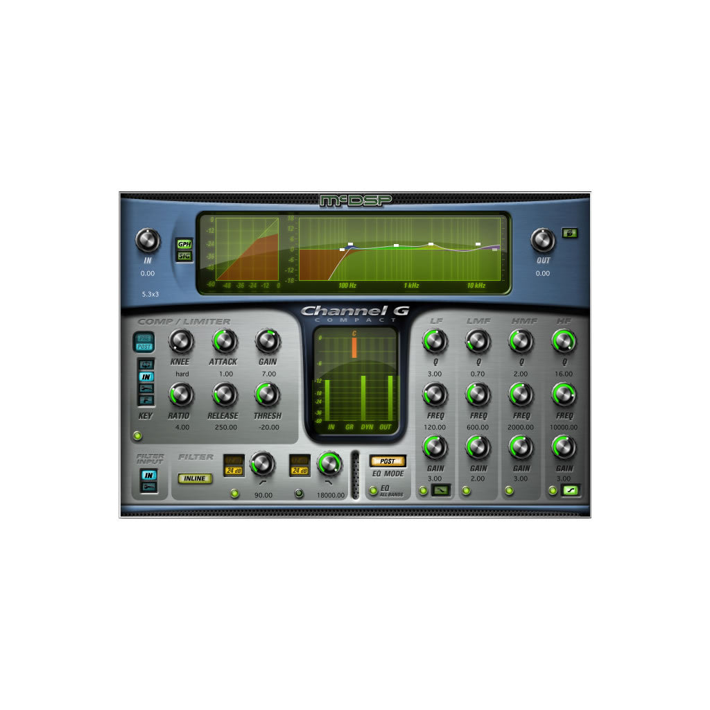 McDSP - Channel G Compact v6 (HD)