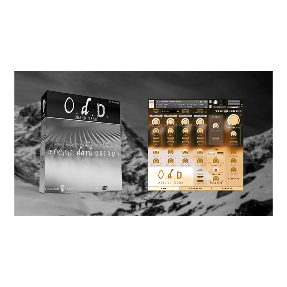 Chocolate Audio - O.D.D. Grand Piano (Kontakt)