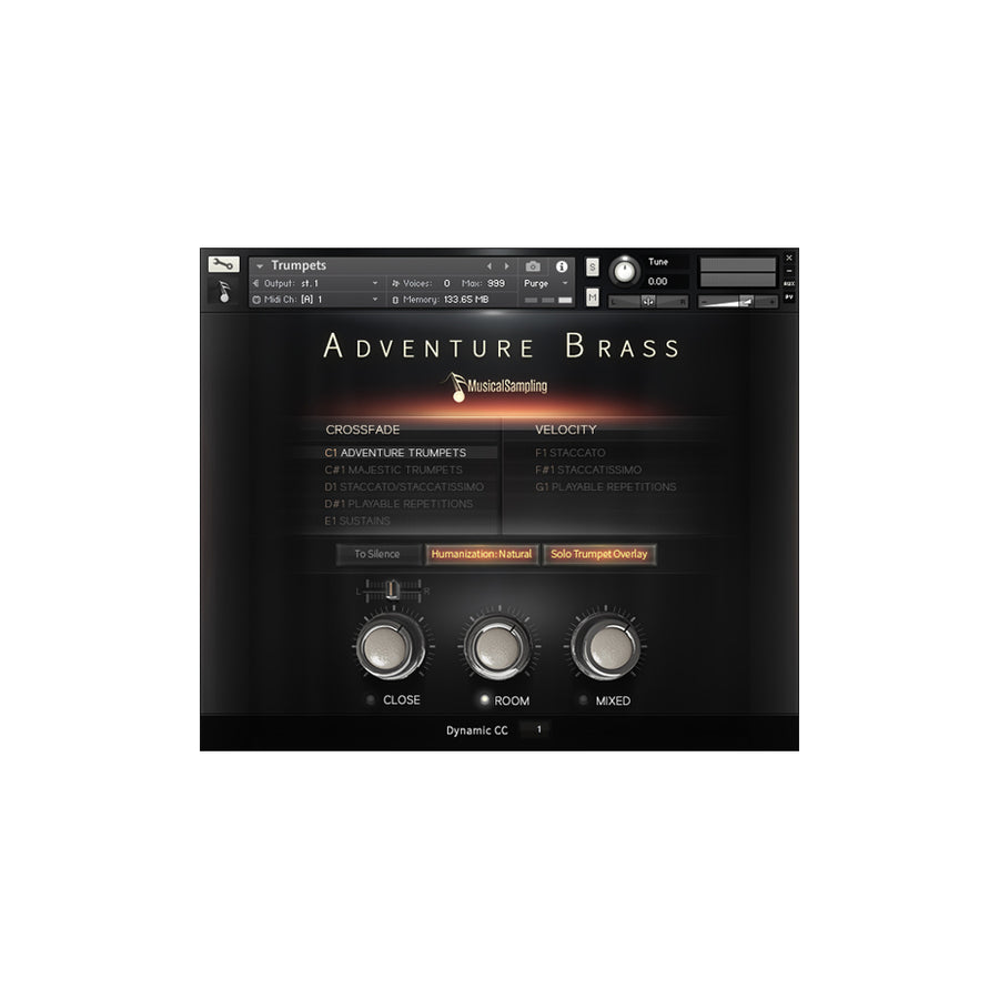 Musical Sampling - Adventure Brass