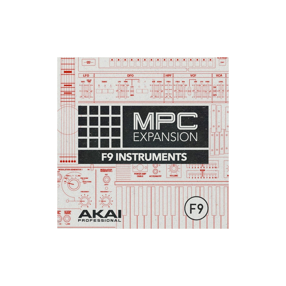 Akai - F9 Instruments Collection (MPC Expansion)