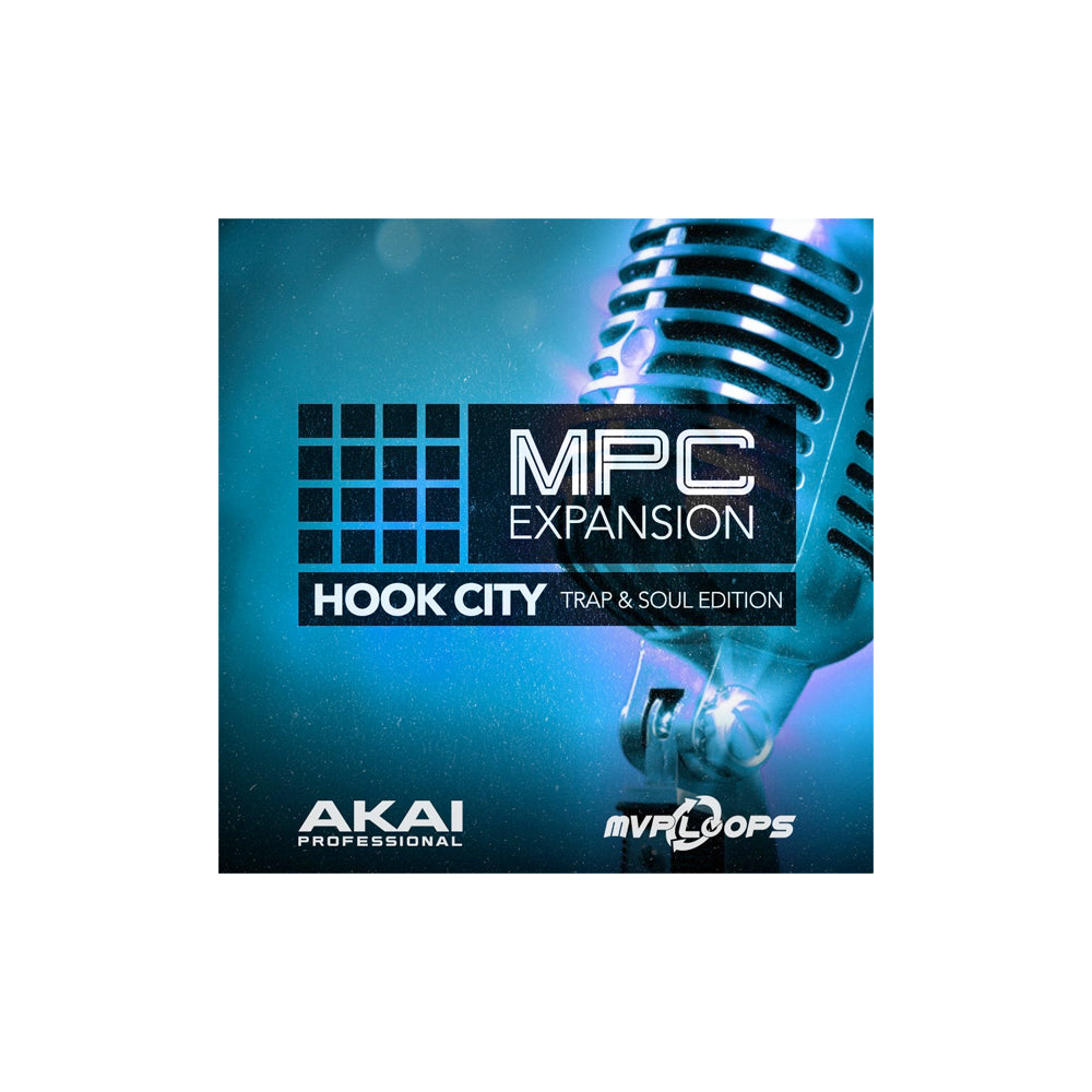 Akai - Hook City Trap & Soul Edition (MPC Expansion)