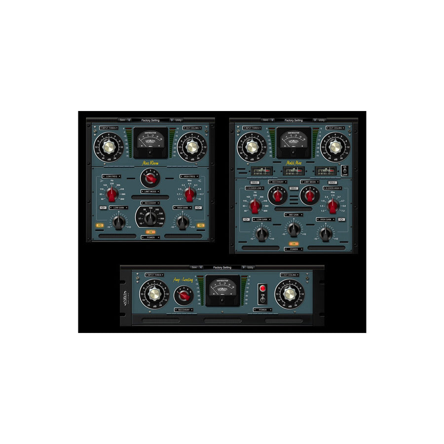 Nomad Factory - Analog Mastering Tools [Bundle]