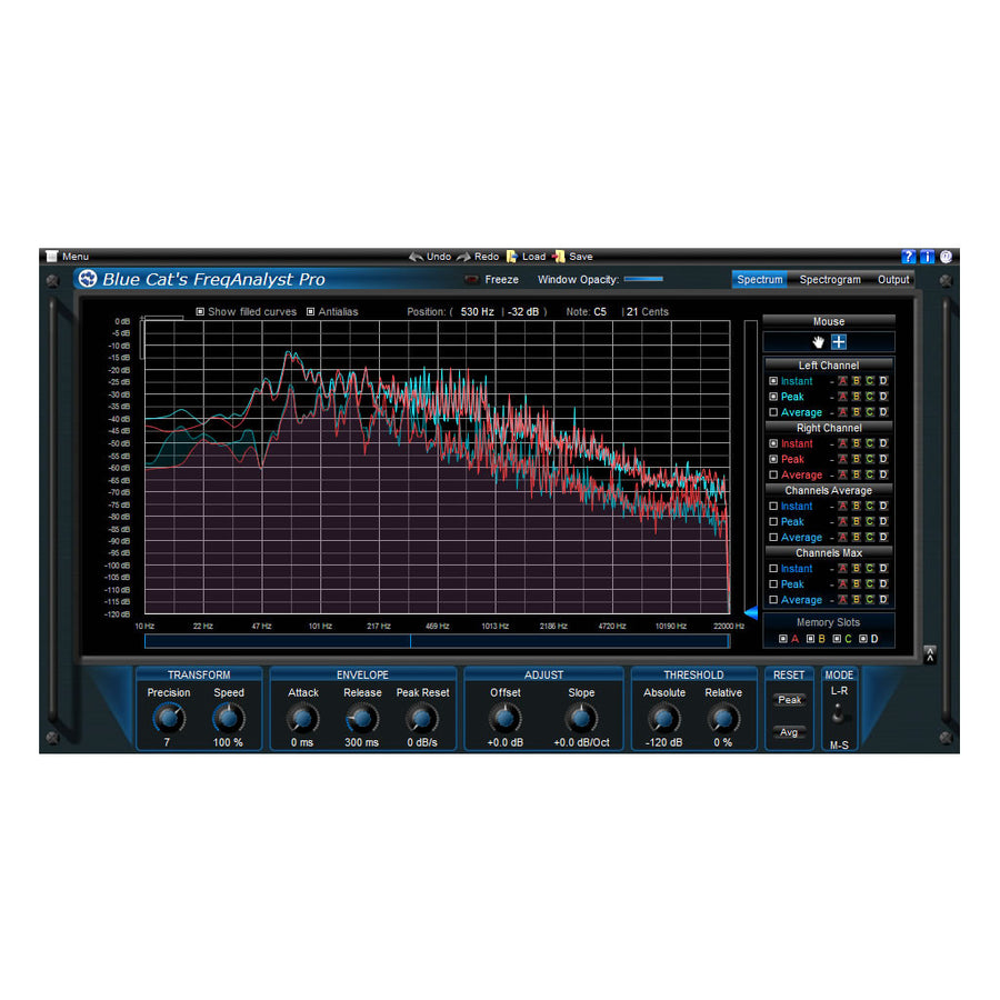 Blue Cat Audio - FreqAnalyst Pro