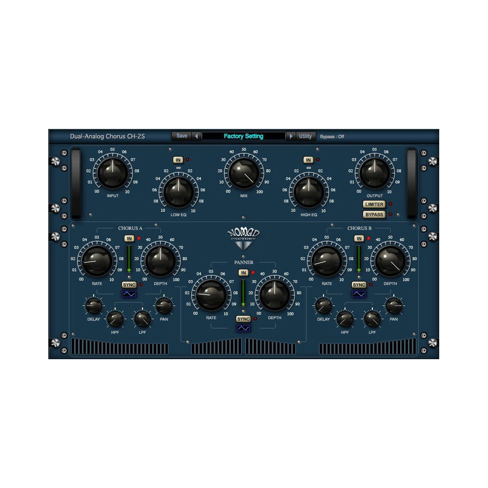 Nomad Factory - Blue Tubes Analog Chorus CH2S