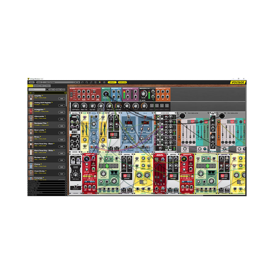 Cherry Audio - Voltage Modular + Electro Drums Bundle