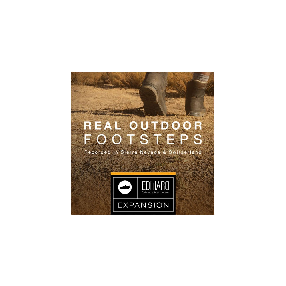 Tovusound - Real Outdoor Footsteps (EFI Expansion)