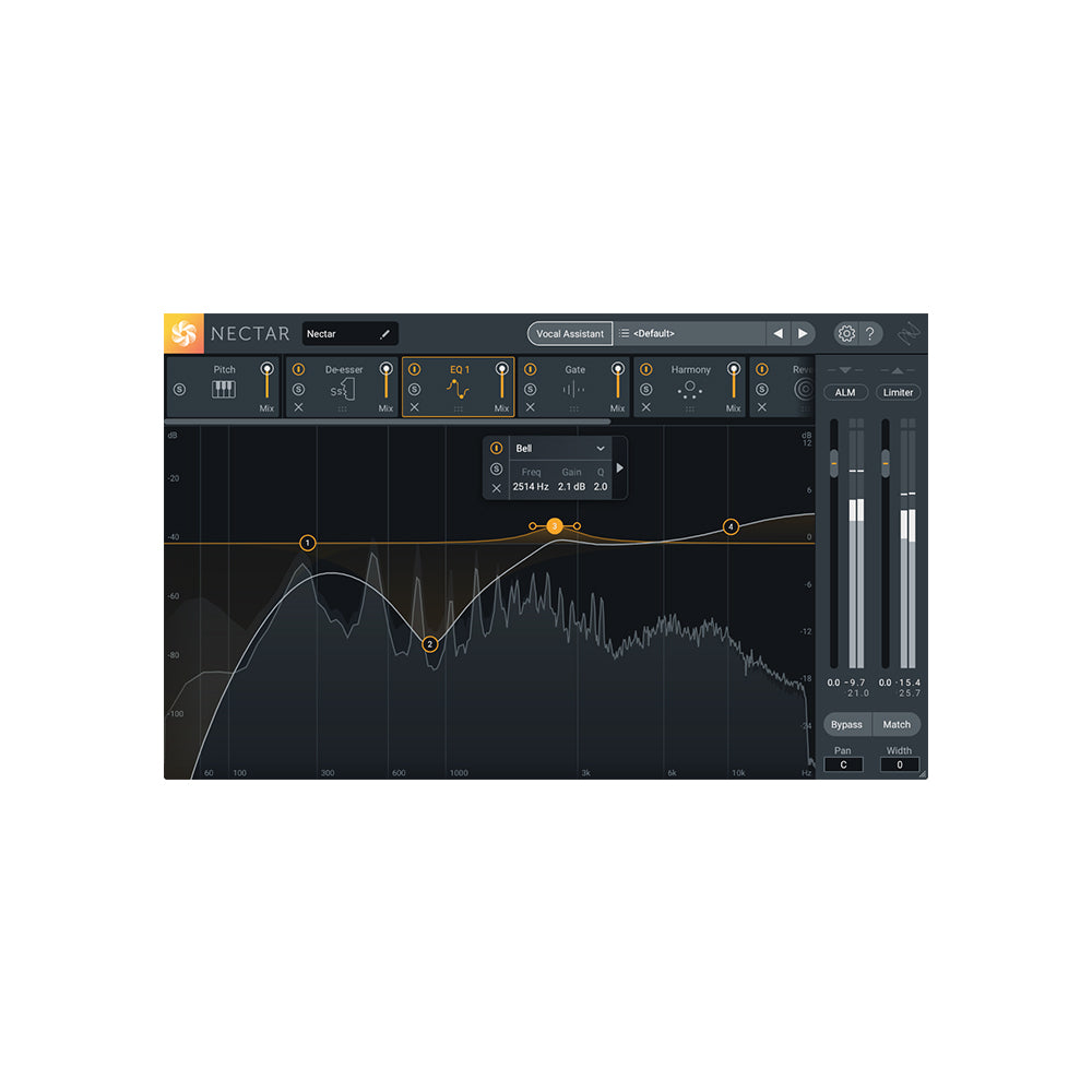 iZotope - Nectar 3 (Crossgrade from any Elements Prod)