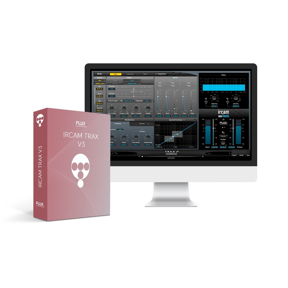 Flux - IRCAM Trax V3 (Bundle)