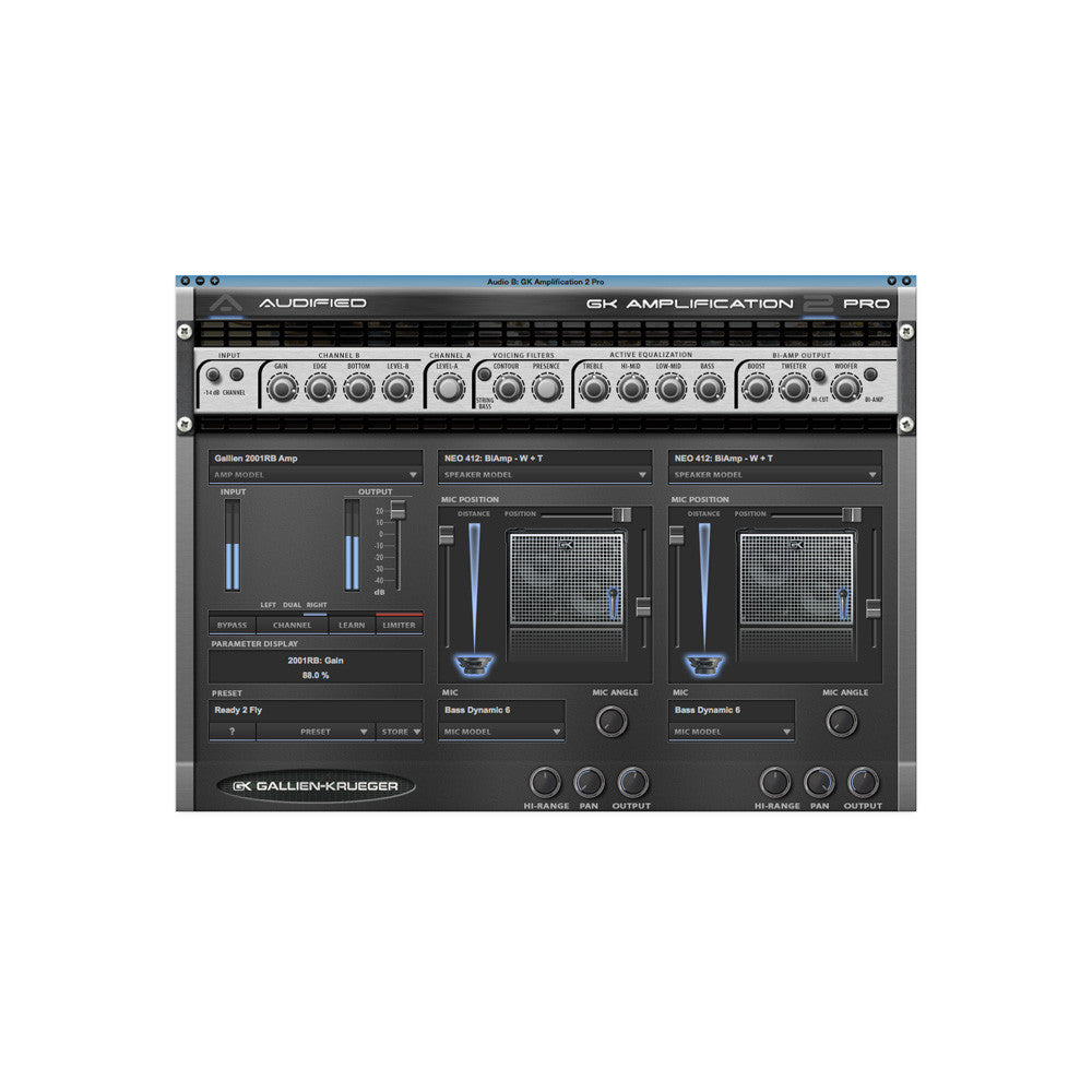 Audified - GK Amplification 2 Pro