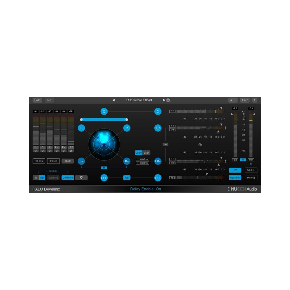 NUGEN Audio - Halo Downmix + 3D Immersive Extension