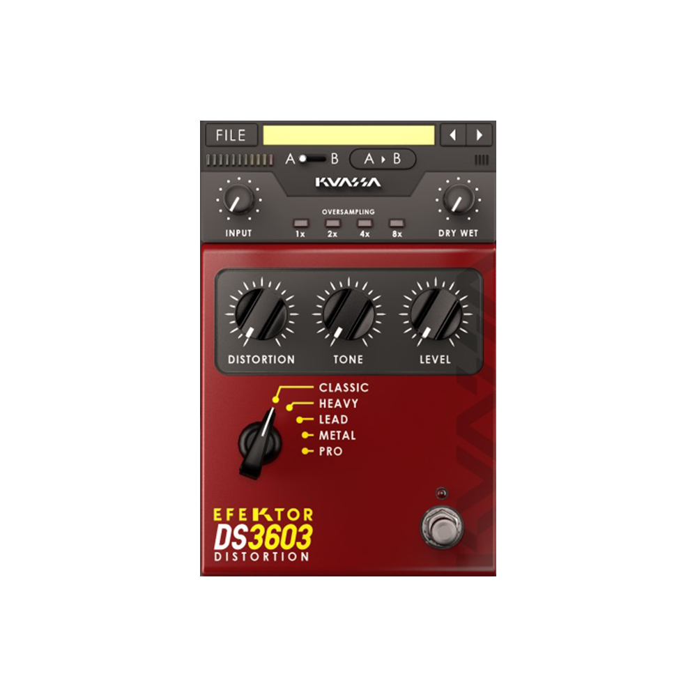 Kuassa - Efektor DS3603 Distortion